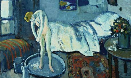 毕加索《蓝色房间》被发现画中画:暗藏男子肖像