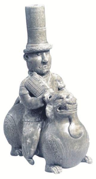 青瓷胡人:研究晋代文化的重要器物