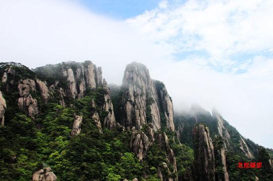 华夏大地的风景奇葩 人类瑰宝三清山之行