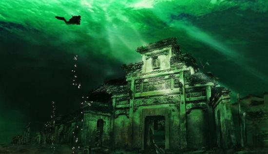探索千岛湖水下千年古城:被水淹没的历史