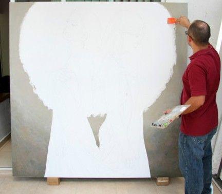 揭秘一幅写实油画的绘制过程
