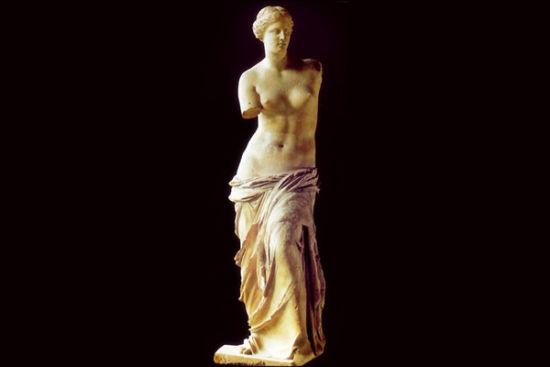 超越现实的美:艺术名作里的女神