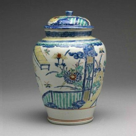 日本江户时代中国风瓷器鉴赏