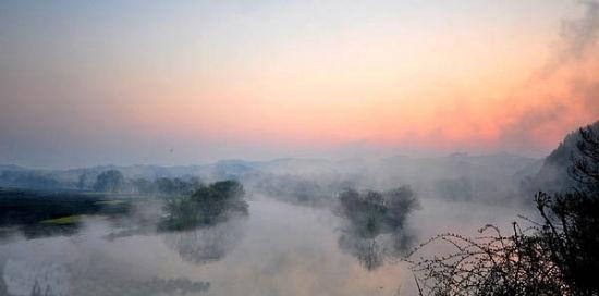 上饶信州区风景画