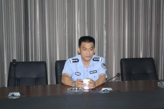 王强副支队长到大队检查指导工作