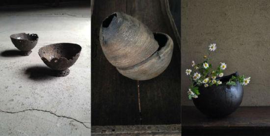朴实而安静的器物之美陶器残缺美
