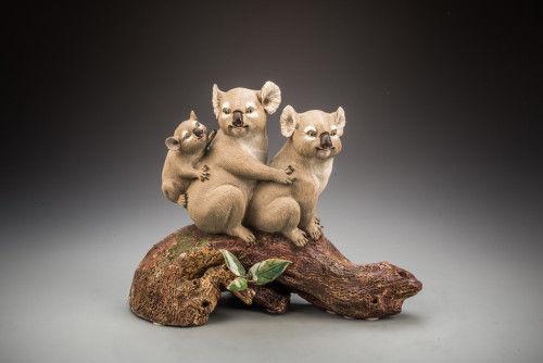 叹为观止的动物陶塑