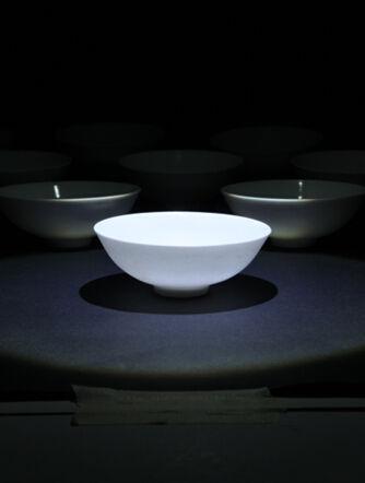 瓷器瑰宝:成化天字款甜白釉小碗赏析
