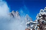 美到醉的三清山雪景