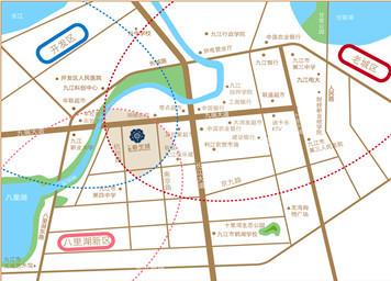 杭州到九江地图