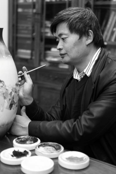 中国工艺美术大师李文跃教授