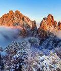 冬季三清山