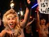各地裸身抗议女子