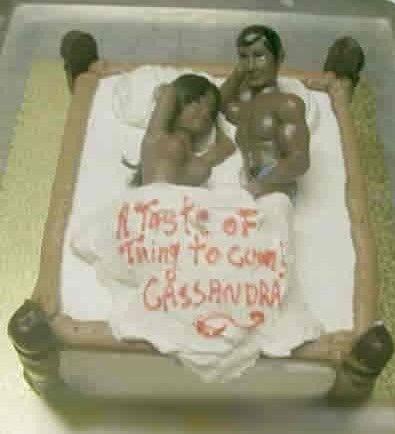 全球重口味邪恶蛋糕