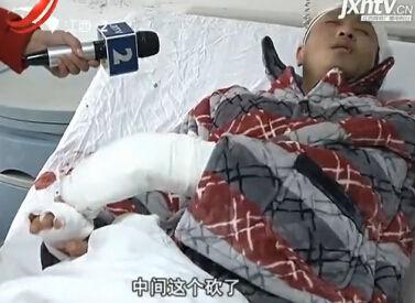南昌男子被砍入院治疗 哪料病房里又遭砍
